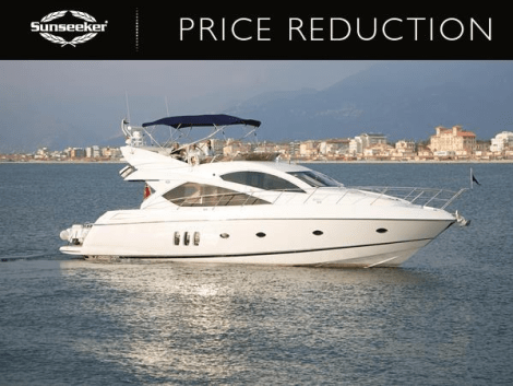 """Sunseeker Poole have announced a price reduction on the Sunseeker Manhattan 60 """"RAOUL W"""""""