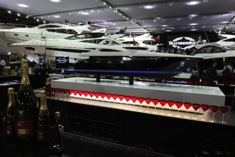 Sunseeker is partnering with some exceptional international luxury brands at the London Boat Show