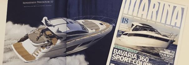 Sunseeker Torquay support launch of new Marina magazine