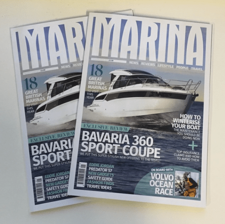New yachting publication Marina magazine will launch at the London Boat Show 2015