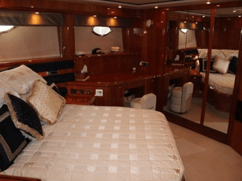 """""""PAPILLON"""" is a prime example of a extremely highly maintained Sunseeker Manhattan 74 that is hard to fault"""