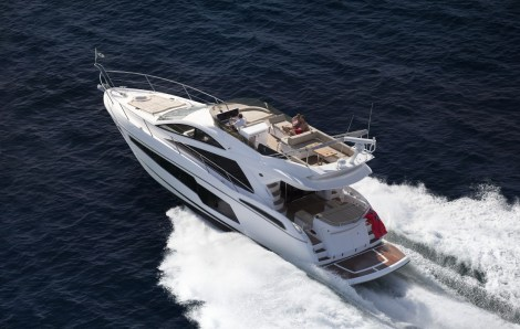 A brand new Sunseeker Manhattan 55 will form part of the display at Sunseeker Southampton's Easter Boat Show