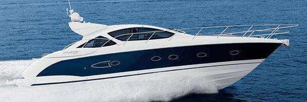 """Sunseeker Poole list Atlantis 50×4 """"CAPITAL GAIN"""""""