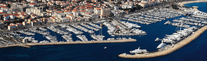 Sunseeker Cannes list 20m x7m berth for sale in Port Camille Rayon