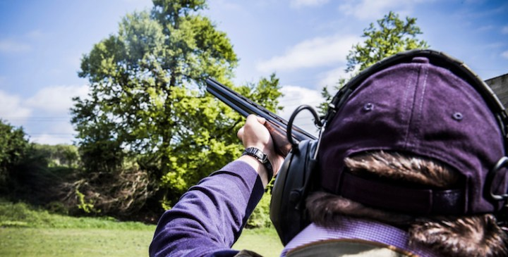 Taking a 'Shot' at Breast Cancer: Sunseeker London support PAH Breast Trials Unit clay pigeon day