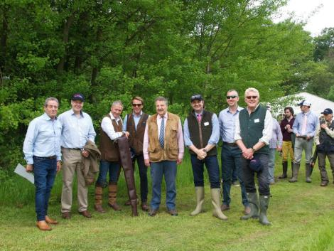The Peters & May shoot was attended by Sunseeker London Group clients and representatives, including Managing Director David Lewis, Sales Director Christopher Head and Sales Brokers Tom Wills and Matthew Stanton