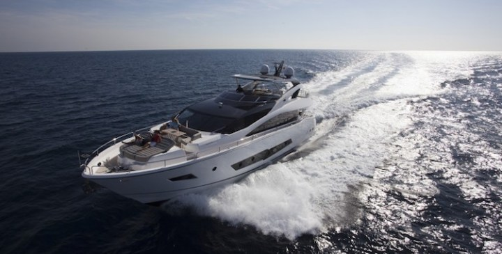 New Sunseeker 86 Yacht sold and delivered by Sunseeker Poole