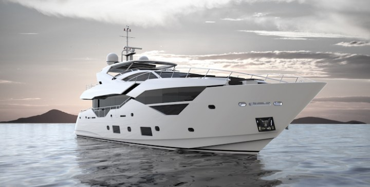 Designs revealed for brand new Sunseeker 116 Yacht to launch in 2016