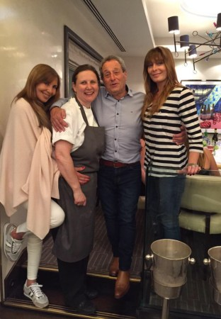 Sunseeker London enjoyed a Master Class with Angela Hartnett in support of Wipe Away Those Tears Charity at Mayfair Michelin starred restaurant, Murano