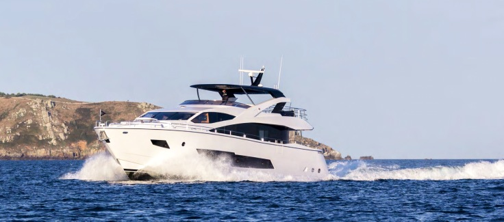 "Successful handover by Sunseeker Egypt of the NEW Sunseeker 86 Yacht ""CHERRY"""