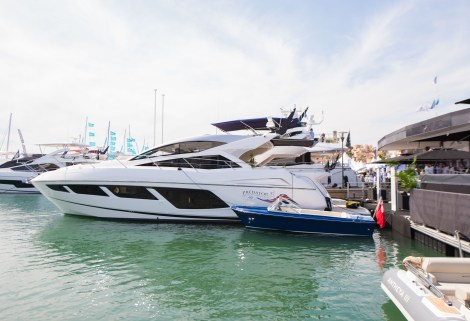 The 57 Predator enjoyed the limelight at the Cannes Yachting Festival