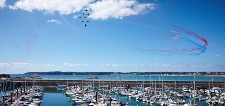 Sunseeker Channel Islands are delighted to be hosting an event with Brooks Macdonald for this years Jersey International Air Display