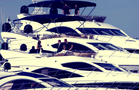 Sunseeker will display near 1,800ft of Sunseeker at three shows this September