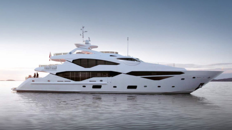 Sunseeker 131 Yacht: Set to steal the London International Boat Show