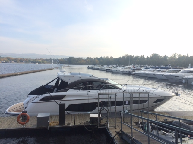 SOLD: Sunseeker Scotland deliver brand NEW San Remo