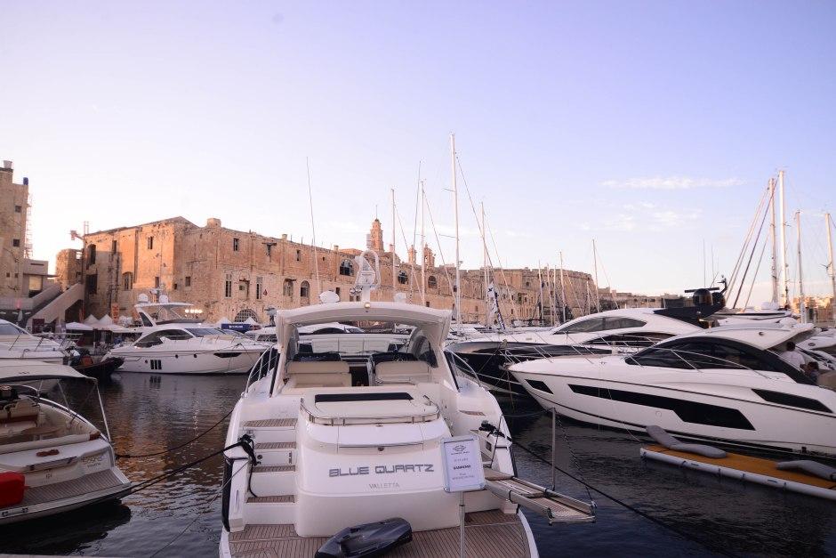 Sunseeker Malta enjoyed the 2015 Valletta Boat Show, Malta