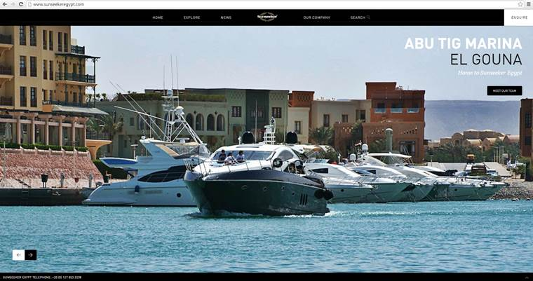 Sunseeker Egypt announce the launch of their new website and social media pages