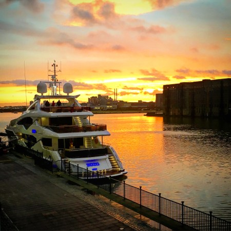 SEEK MORE - The NEW 131 Yacht at sunrise