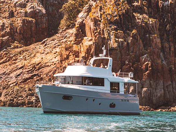 PRICE REDUCTION: ALFIE BUOY Beneteau Swift Trawler 50