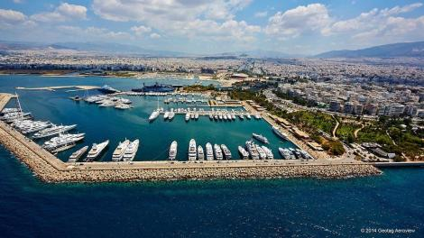 Guests are expected to travel from around the world to attend this fabulous event at Flisvos Marina
