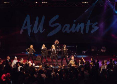 The pop group All Saints