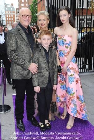 John Caudwell and family. Photo ©Edward Lloyd/Alpha Press