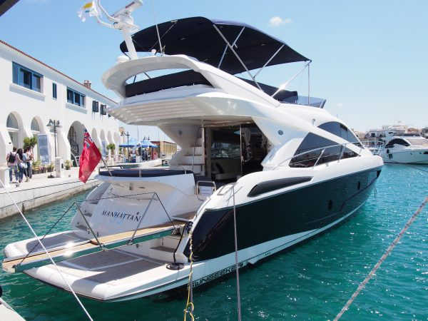 SOLD: Sunseeker Cyprus reports on a busy and successful start of the summer season with a sale of a Sunseeker Manhattan 55
