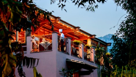 The Michelin starred restaurant 'Belvedere' at Forte Village
