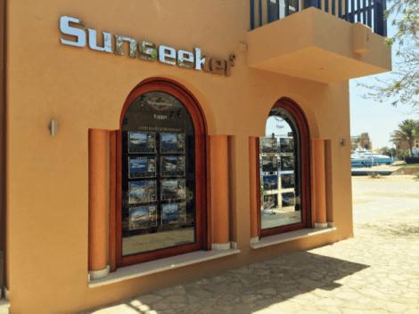 "<a href=""http://www.sunseekeregypt.com/"" target=""_blank"">Sunseeker Egypt</a>'s newly refurbished offices in Abu Tig Marina, El Gouna"