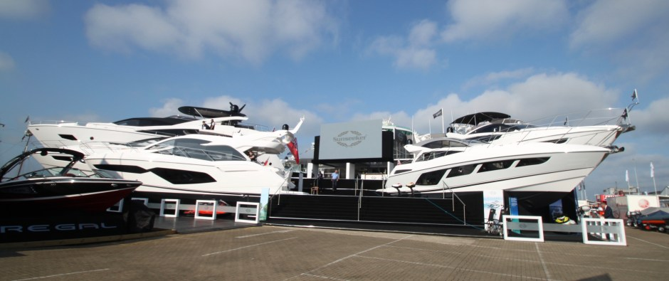 BOAT SHOW UPDATE: Sunseeker London Group report on an amazing start to the Southampton Boat Show on the Sunseeker Stand