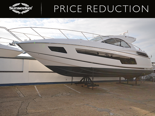 PRICE REDUCTION: Sunseeker Poole announce price reduction on Central Listed Sunseeker San Remo 485 'STEFLIN'