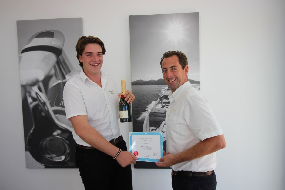 BROKER OF THE MONTH: Sunseeker Mallorca are proud to announce that Brandon Brown is announced as Broker of the Month