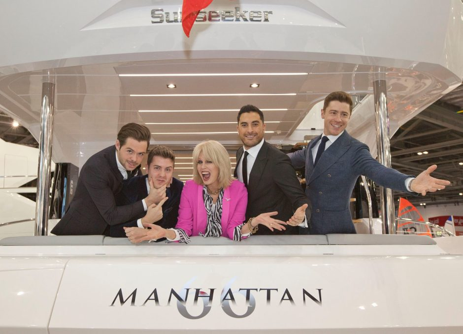 BOAT SHOW: The Sunseeker Stand has an ABSOLUTELY FABULOUS launch!