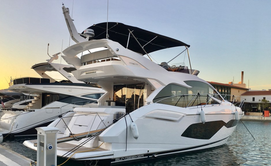HANDOVER: Sunseeker Cyprus announce the successful handover of one of the first new Sunseeker Manhattan 52 models to be delivered worldwide