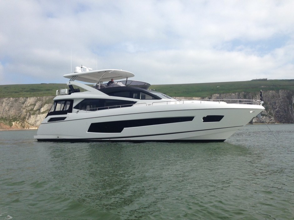"""NEW LISTING: James Lumley is excited to announce the successful sale of the 2016 Sunseeker 75 Yacht """"HARD 8"""""""