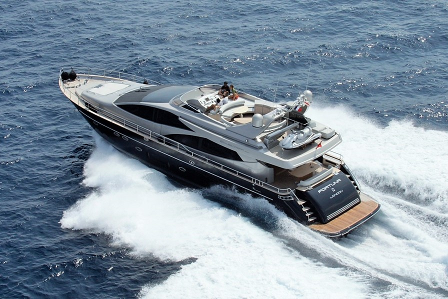 NEW LISTING: Alex Montane is proud to present the stunning Riva Opera 85 'FORTUNA OMEGA'