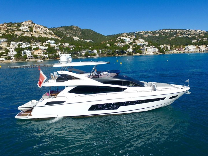 COMPLETION: Another Yacht sold through seamless teamwork within the Sunseeker London Group