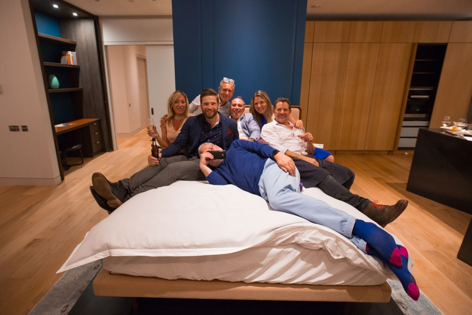 Sunseeker Poole get 'IN BED…WITH TED'!