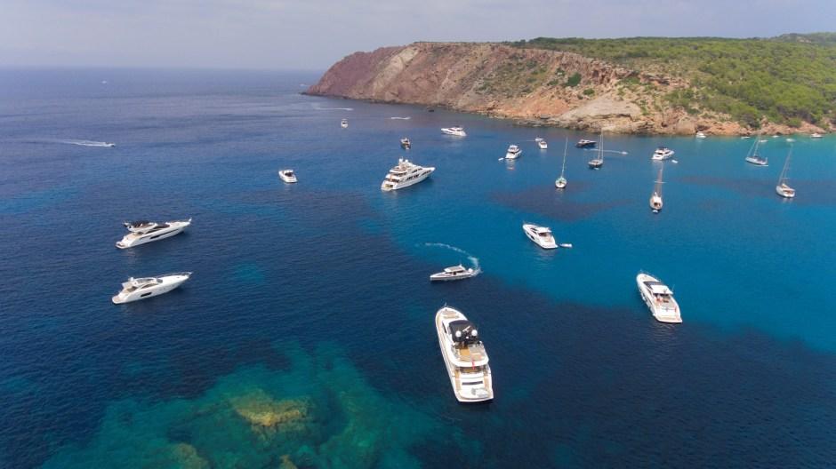 CRUISE: Sunseeker Mallorca ventured to the idyllic island of Menorca on the 2017 Sunseeker Mallorca Owners' Cruise