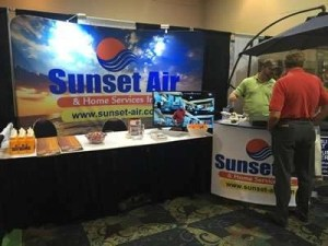 2016 H and G Home and Garden Show - Sunset Air and Home Services - Fort Myers FL 33905 - Display