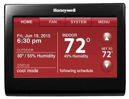 Honeywell - WiFi Thermostat - WiFi 9000