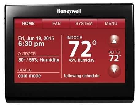Honeywell - WiFi Thermostat - WiFi 9000