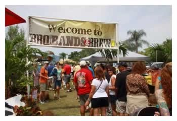 BBQ Bands and Brew - Event Entrance