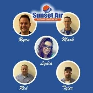 AC Installation Team - Fort Myers Florida - Sunset Air and Home Services - 239-693-9005 - 300 x 300