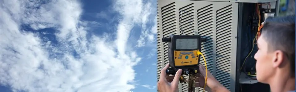 AC Repair Background - Fort Myers FL - Sunset Air and Home Services - May 2019 - 960 x300