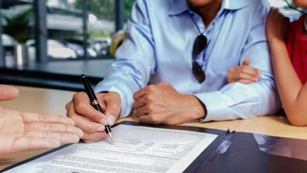 Signing contract–Maintenance Agreement - Fort Myers - Sunset Air & Home Services