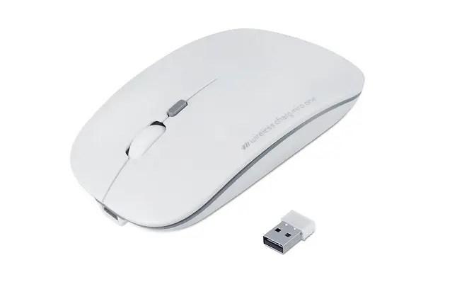 シンプルなデザインのEcaslo ワイヤレスマウス