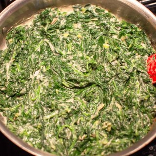 Basic Creamed Spinach. This is the recipe to start with to learn creamed spinach.