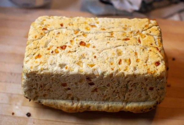 Underside of Swedish Dill Bread