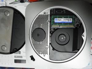 Mac Mini換装後